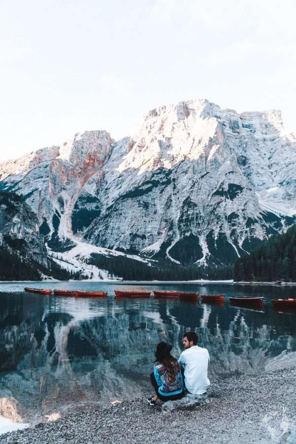 escursione al Lago di braies Dolomiti alto adige