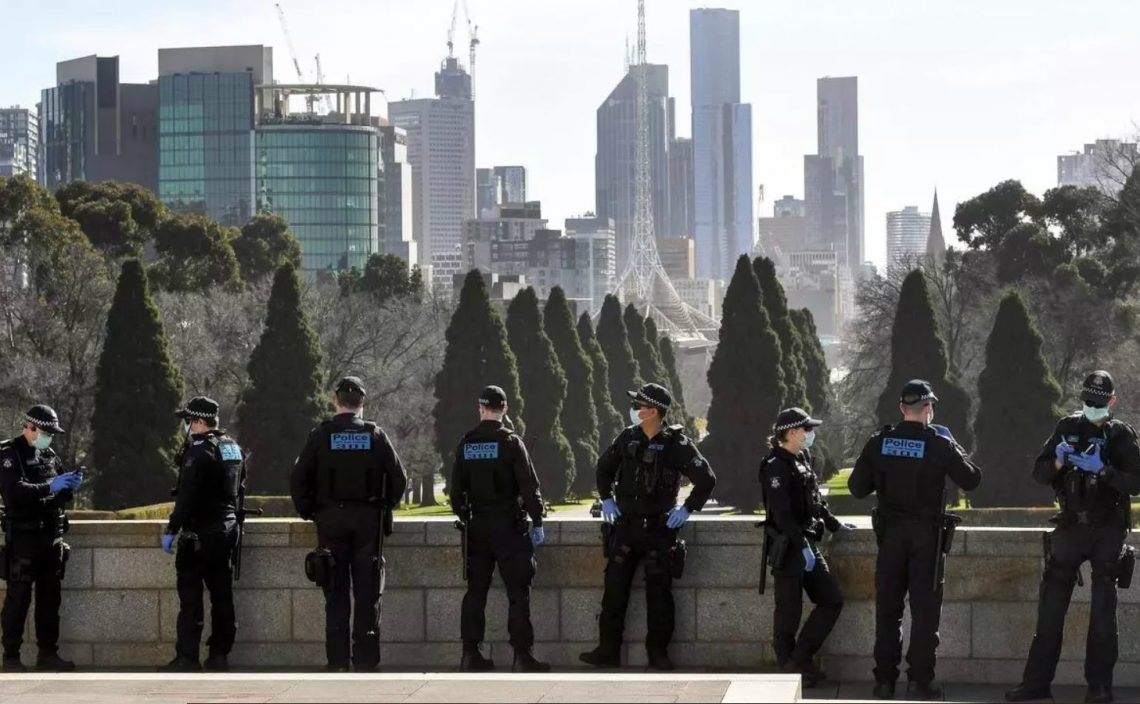 Polizia australiana melbourne @William West, AFP
